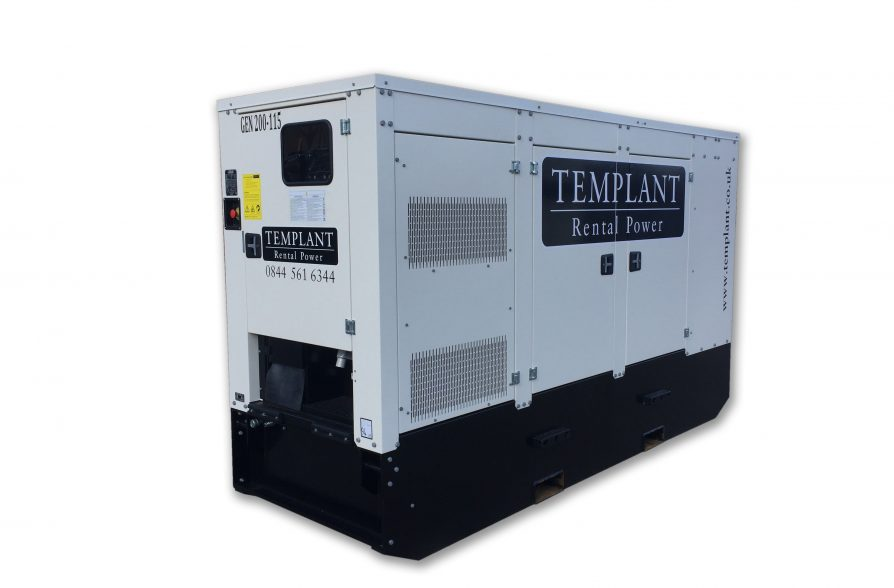 200 kVA Generator Hire