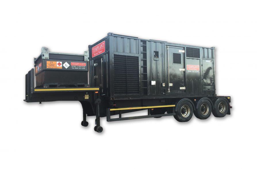 800kva generator on trailer