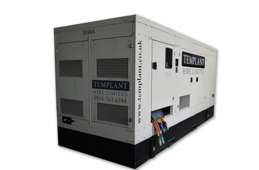 500 kVA Generator Hire