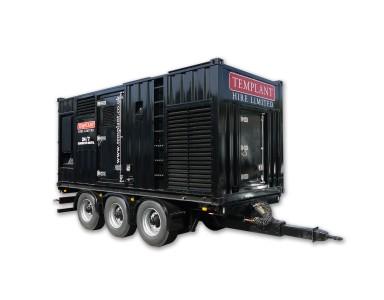 800kva generator on trailer 1