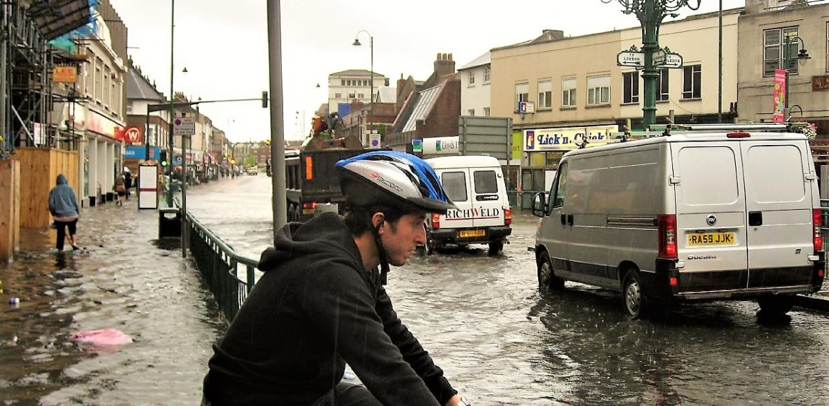 Flooded Tooting Broadway