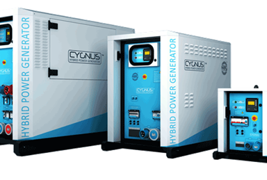 firefly cygnus hybrid power generator range