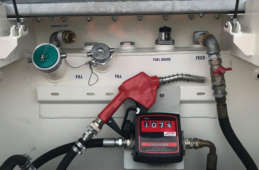 1000 Litre Road Tow Fuel Tank