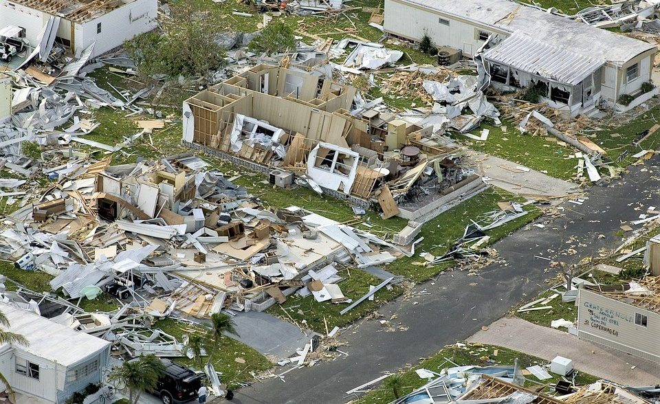Hurricane Destroyed Homes