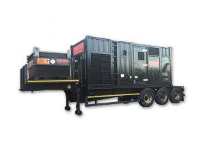 Generator on a Trailer